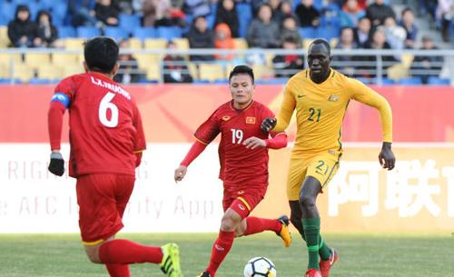 Việt Nam đang đứng trước cơ hội giành vé dự tứ kết U23 châu Á. Ảnh: AFC