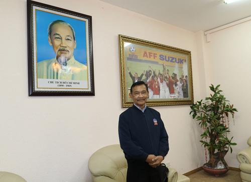 Tổng thư ký AFF Dato Azzuddin trong cuộc trả lời phỏng vấn VnExpress. Ảnh: Lâm Thỏa