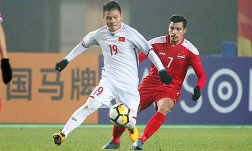 Quang Hải là ngôi sao sáng của U23 Việt Nam tại VCK U23 châu Á lần này. Ảnh: Anh Khoa.