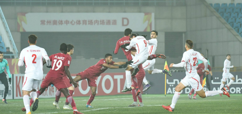 U23 Qatar vượt qua Palestine, hẹn Việt Nam hoặc Iraq tại bán kết