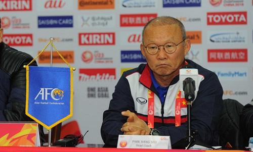 HLV Park Hang-seo đánh giá rất caoIraq. Ảnh: AFC.