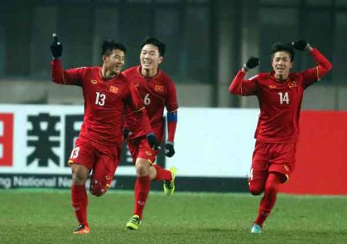 3,2 tỷ đồng là phần thưởng xứng đáng cho U23 Việt Nam khi giành chiến thắng lịch sử trước Iraq
