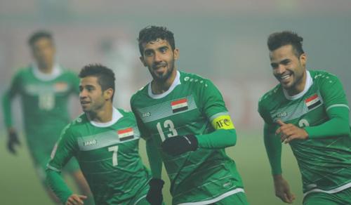 Resan (13) là thủ lĩnh tinh thần của Iraq. Ảnh: AFC