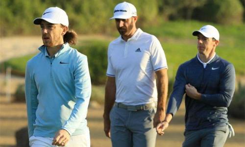 McIlroy, Johnson và Fleetwood tạo ra cục diện hấp dẫn tại Abu Dhabi