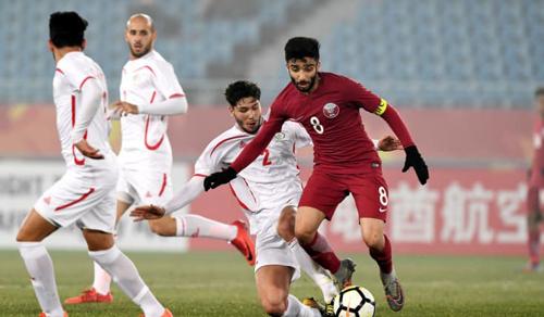 Qatar gây ấn tượng mạnh với bốn trận toàn thắng. Ảnh: AFC