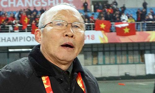 HLV Park Hang-seo có mẹ già 97 tuổi và vợ con ở quê nhà. Ảnh: Anh Khoa.