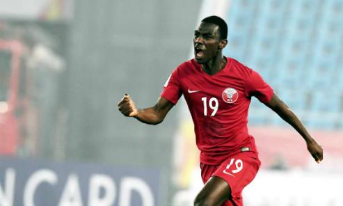 Almoez Ali chơi cho đội U23 nhưng đã là nòng cốt ở tuyển quốc gia Qatar với 21 lần ra sân và ghi năm bàn. Ảnh:AFC.