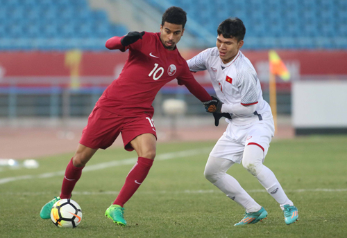 """Tiền vệ Qatar: """"Đội Việt Nam thi đấu bằng cả trái tim và đam mê"""""""