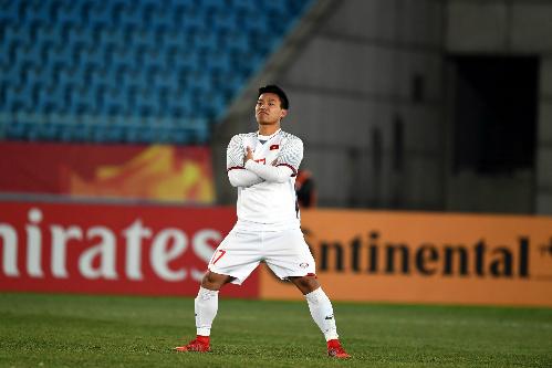 Cầu thủ Việt Nam tỏ rõ sự tự tin trước những ông lớn châu Á. Ảnh: AFC.