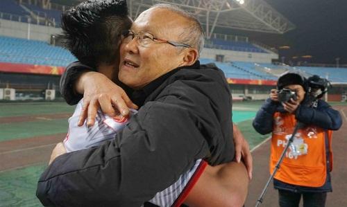 Thành công của HLV Park Hang-seo được chào đón ở Hàn Quốc. Ảnh: Anh Khoa.