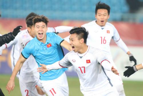 Cầu thủ Việt Nam từng thiếu niềm tin vào bản thân. Ảnh: AFC.