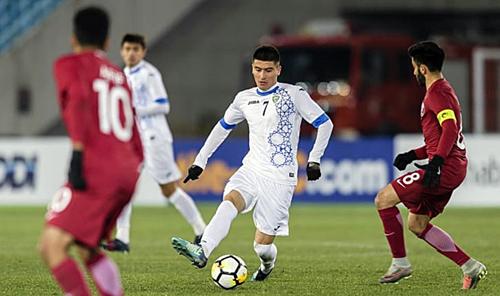Odiljon Xamrobekov là ông chủ nơi tuyến giữa của Uzbekistan. Ảnh: AFC