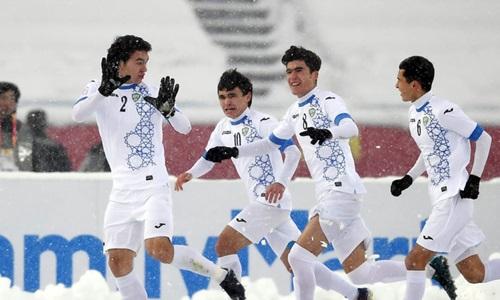 Uzbekistan giành chiến thắng nhọc nhằn trước Việt Nam ở chung kết. Ảnh: AFC.