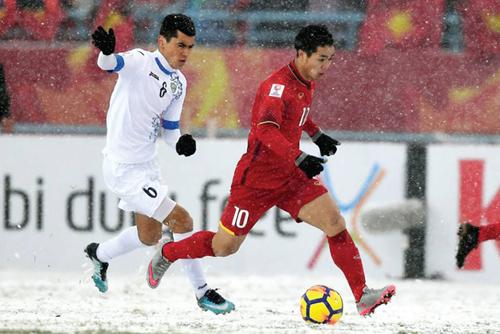 """Đặng Phương Nam: """"Đá trên sân băng được như U23 Việt Nam là quá giỏi rồi"""""""