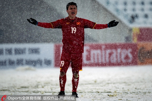 Fan Trung Quốc tả cú sút của Quang Hải bằng truyện Kim Dung