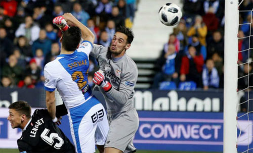 Sevilla chiếm lợi thế sau bán kết lượt đi Cup Nhà vua