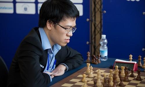 Quang Liêm có màn trình diễn tốt ở giải cờ hàng đầuGibraltar Masters. Ảnh:GCF.