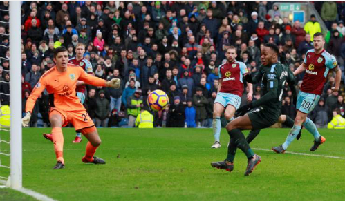 Sterling là cầu thủ bỏ lỡ nhiều thời cơ ngon ăn nhất của Man City. Ảnh: Reuters.