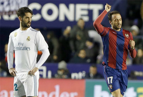 Levante giữ 1 điểm ở lại sân nhà. Ảnh: Marca