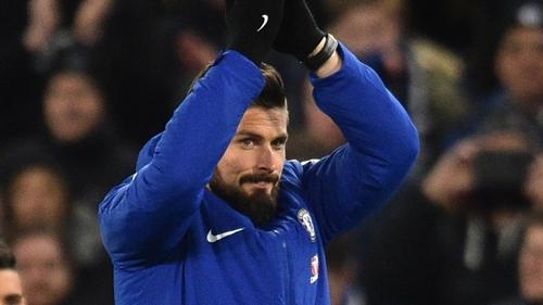 Conte là nguyên do khiến Giroud chọn lọc ở lại Anh. Ảnh: PA.