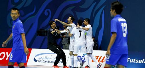 Iran dễ dàng đè bẹp nhà vô địch Đông Nam Á. Ảnh: AFC.