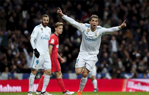 Real chạy đà rất tốt cho trận gặp PSG tại Champions League. Ảnh: Reuters