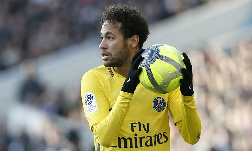 Neymar là niềm hy vọng số một của PSG trong cuộc thư hùng với Real. Ảnh: Marca.