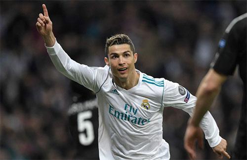 Ronaldo và Real nắm lợi thế lớn trên con đường vào tứ kết. Ảnh: Reuters