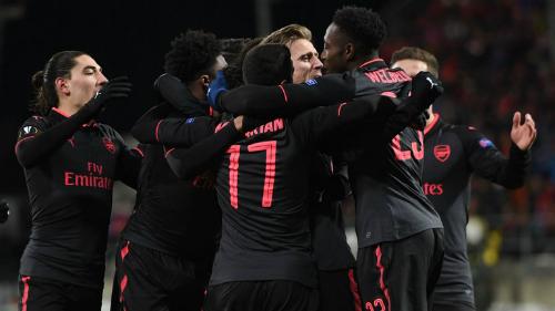 Arsenal giành chiến thắng khá dễ dàng. Ảnh: Sky.