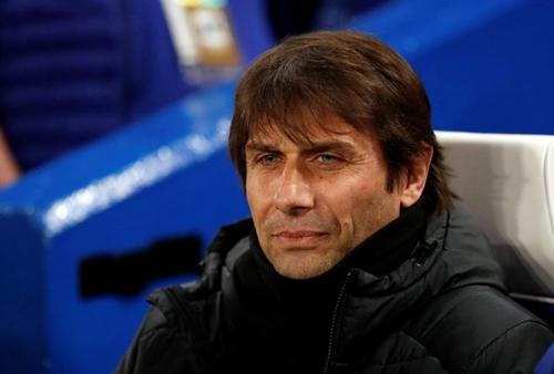 Conte lạc quan về tương lai ở Chelsea. Ảnh: Reuters.