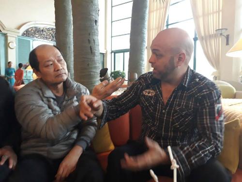 Flores tái ngộ võ sư Hoài Linh