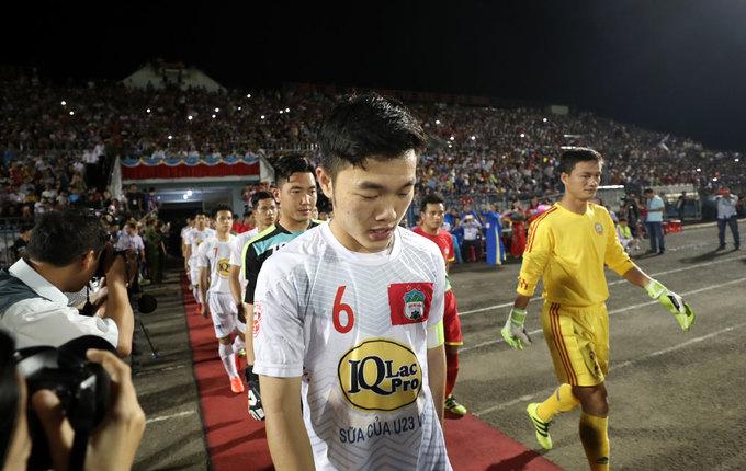 Bình Phước 'vỡ sân' khi Công Phượng, Xuân Trường đến thi đấu