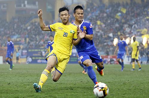 Hai tuyển thủ U23 Việt Nam cùng lập công, SLNA chiến thắng tại AFC Cup