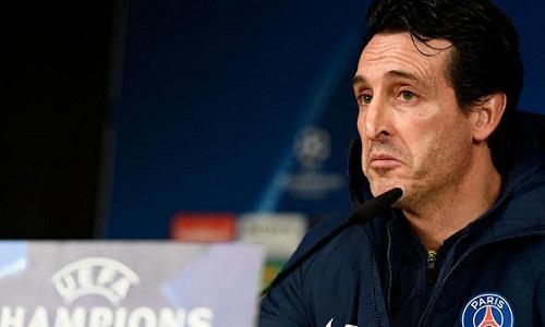 Emery muốn Real có lực lượng mạnh nhất để đấu PSG. Ảnh: Marca.