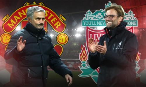 Là kình địch, nhưng Mourinho và Klopp chỉ dành cho nhau những lời tôn trọng. Ảnh: Metro.
