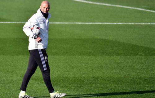 Zidane muốn các học trò giữ vững phong độ. Ảnh: Marca
