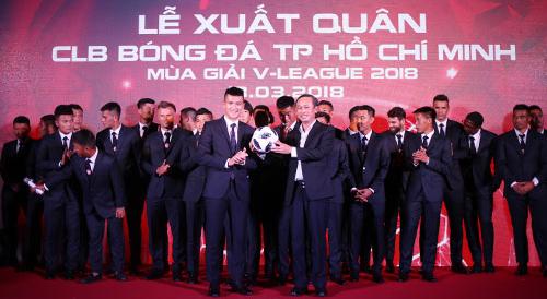 Lê Công Vinh: CLB TP HCM có thể thua dưới sân nhưng sẽ thắng trên khán đài - ảnh 1