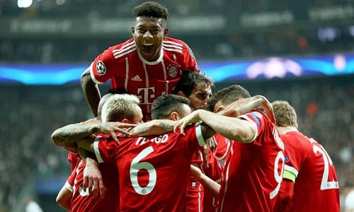 Bayern thể hiện sức mạnh khi đè bẹp đối thủ Thổ Nhĩ Kỳ. Ảnh: EPA.