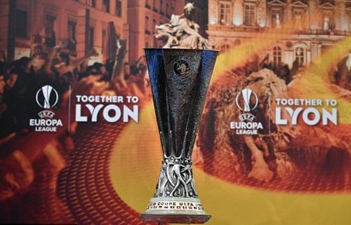 Chung kết Europa League mùa 2017-2018 diễn ra tại Lyon. Ảnh: AFP.