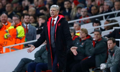 Wenger muốn tránh Atletico ở tứ kết Europa League