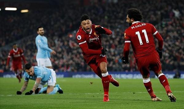 Liverpool là đội duy nhất thắng được Man City ở Ngoại hạng Anh mùa này. Ảnh: Reuters.