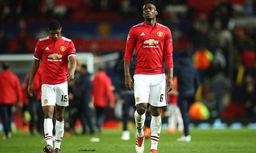 Cầu thủ Man Utd chơi dưới sức trong trận gặp Sevilla hồi giữa tuần. Ảnh: Reuters.