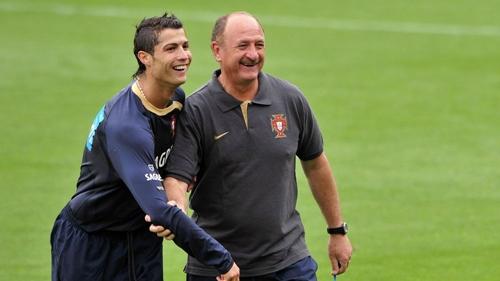 Ronaldo từng dò hỏi Scolari về việc chơi bóng ở Trung Quốc