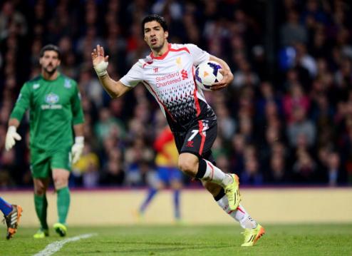 Suarez là cầu thủ gần nhất của Liverpool giành Vua phá lưới Ngoại hạng Anh. Ảnh: AFP.