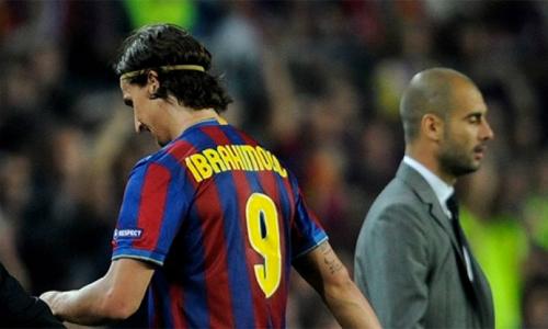 Ibrahimovic rời Inter sang Barca vì khát vọng vô địch Champions League, nhưng bị Guardiola ghẻ lạnh, anh phải sớm ra đi. Đến giờ, tiền đạo người Thuỵ Điển vẫn chưa biết mùi vinh quang ở giải đấu này.