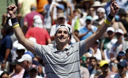 Isner cắt chuỗi 15 trận thắng của Del Potro ở bán kết Miami Mở rộng