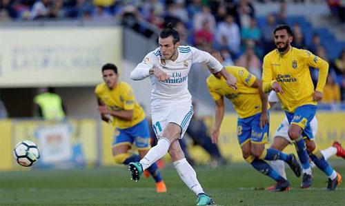 Bale lập cú đúp, Real đại thắng mà không cần Ronaldo
