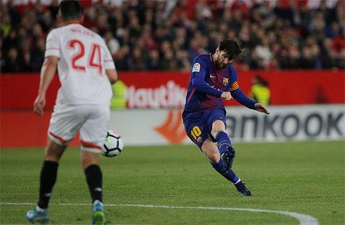 Sevilla - Barca: Tuyệt đỉnh Messi, cái kết không tưởng