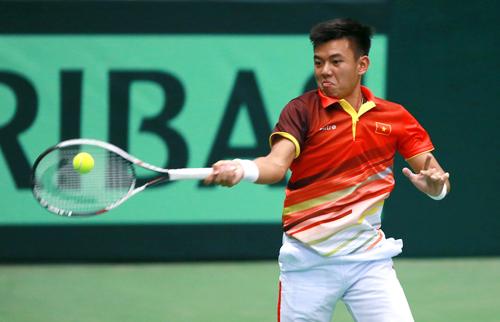Việt Nam ra quân thắng lợi tại Davis Cup