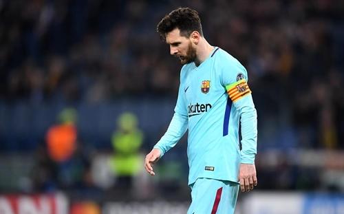 Giới cá cược không tin là Barca thua trận. Ảnh: AFP.
